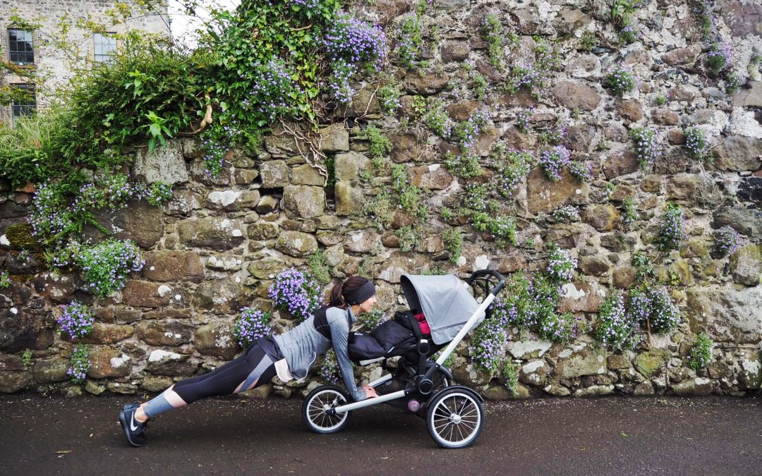 Fitness and Family in collaboration with Bugaboo
